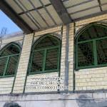 پنجره فلزی مسجد
